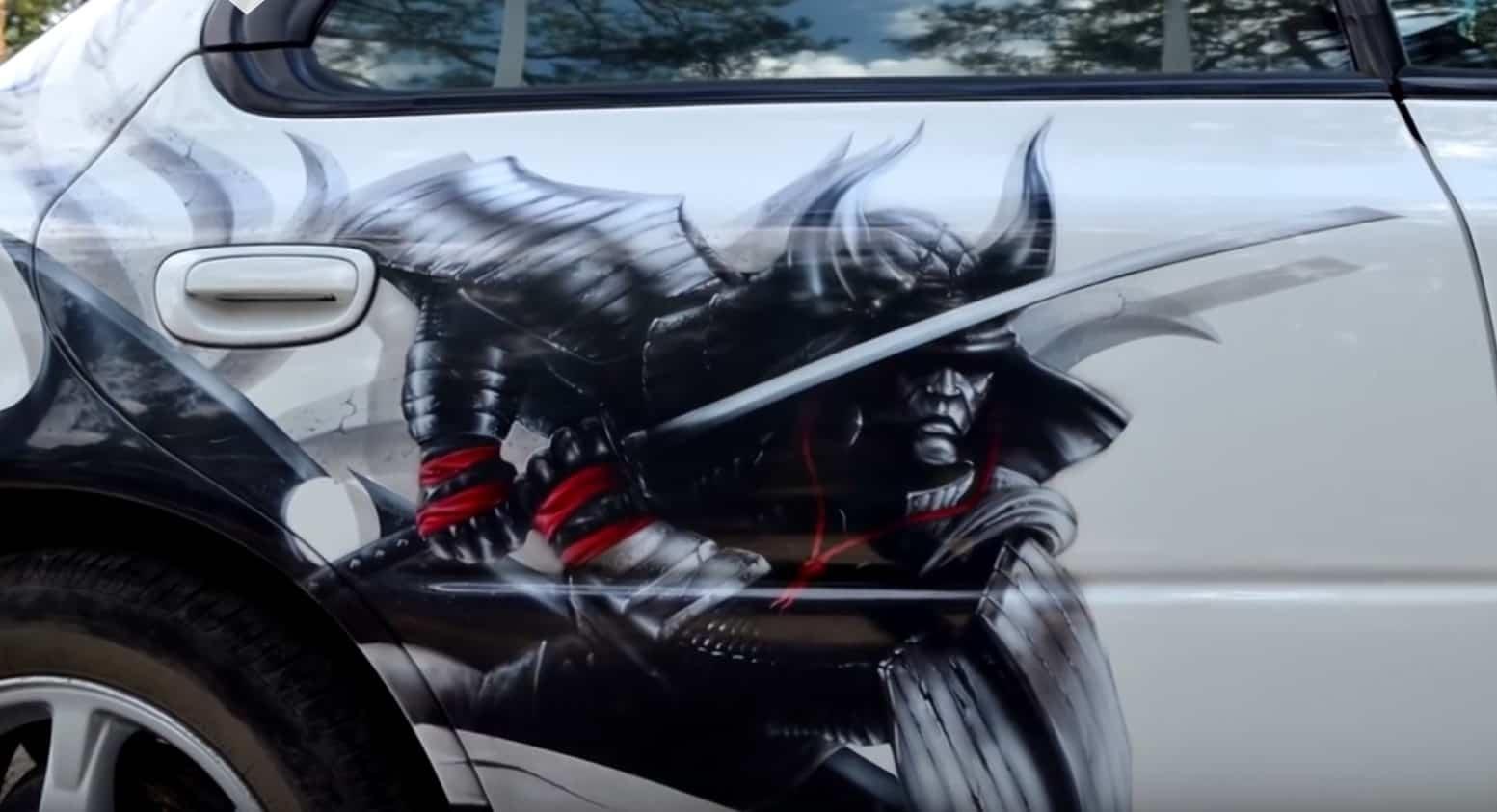 Картинки машин с самураями