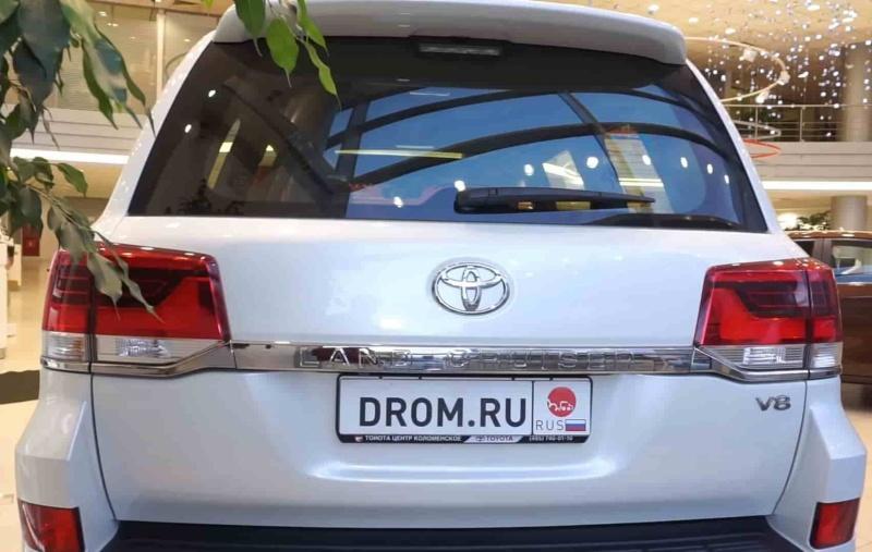 Toyota Land Cruiser 4WD AT Executive White
