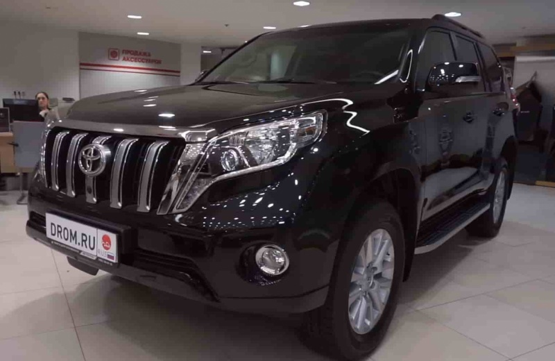 Toyota Land Cruiser Prado 4WD AT Престиж