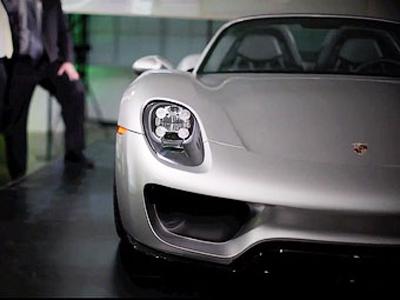 Porsche показал на закрытом показе серийную версию супергибрида 918 Spyder