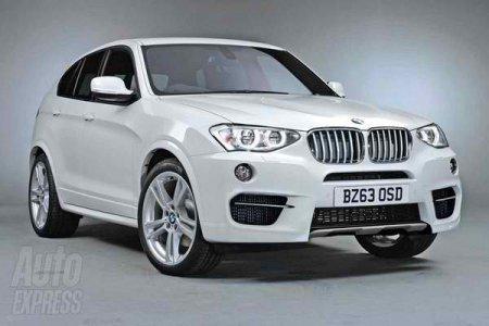 BMW X4 M обзаведется 450-сильным мотором