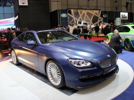Эксклюзивный автомобиль BMW Alpina B6