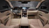 Панель управления в Lexus LS 460