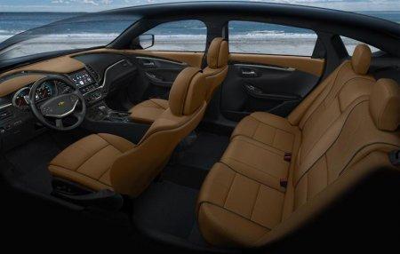 Салон нового Chevrolet Impala 2014