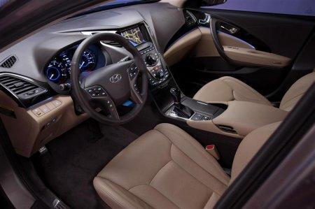 Роскошный салон Hyundai Azera 2012