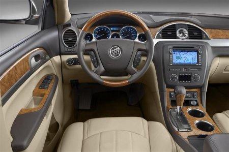 Водительское сиденье Buick Enclave