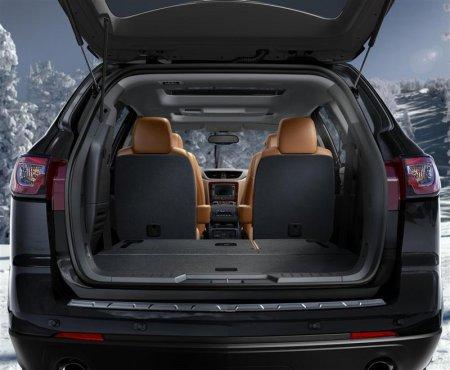 Багажное отделение Chevrolet Traverse 2013