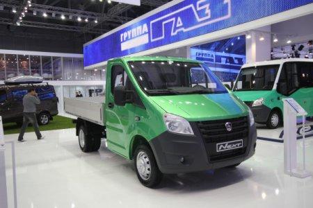 ГАЗель-Next представлена на Московском международном автосалоне 2012