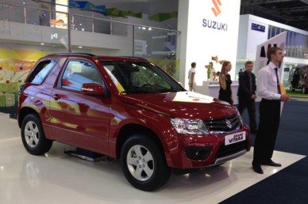 Grand Vitara от Suzuki на ММАС-2012