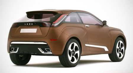 Концепт кар от Lada - Xray