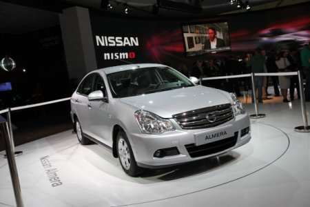 Nissan Almera для России