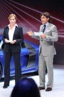 Международной московский автосалон 2012 - открытие стенда Audi