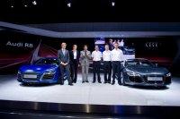Открытие стенда Audi