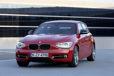BMW 1 Series 2012 Red