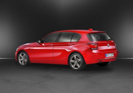 Стильный дизайн BMW 1 Series 2012