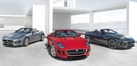 Jaguar F-Type дебютирует в Париже