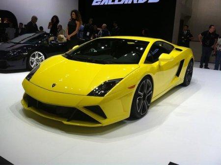 Lamborghini Gallardo на Парижском автосалоне