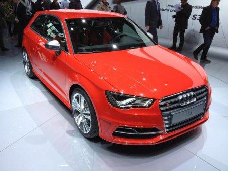 Audi S3 на Парижском автосалоне
