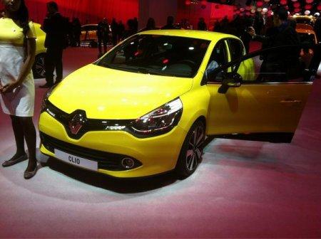 Renault Clio в Париже