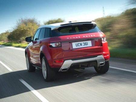 Новенький Land Rover Evoque