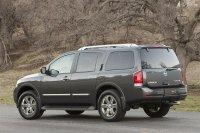 Внешний вид Nissan Armada (Ниссан Армада) 2012