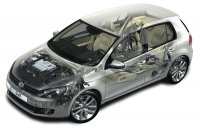 Двигатель Volkswagen Golf (Фольксваген Гольф) 2012