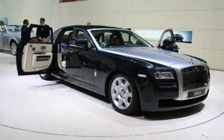 Характеристики Rolls-Royce Ghost