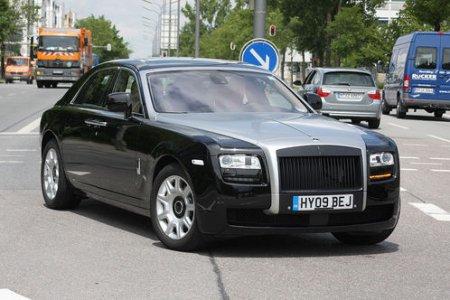 Мощный Rolls-Royce Ghost