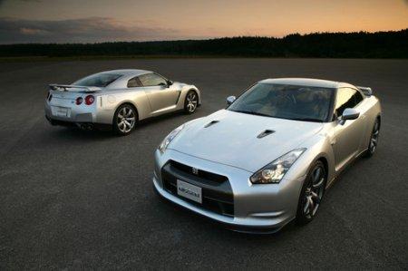 Дизайн Nissan GT-R