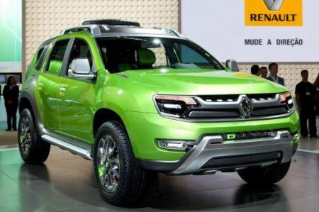 Концепт кар Renault DCross