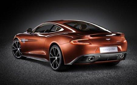 Автомобиль Aston Martin Vanquish 2013