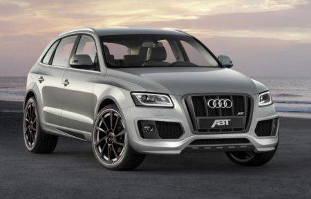 Обновленный Audi Q5 2013
