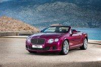 Bentley Continental GT Speed Convertible 2013 - обзор, фото, цена, характеристики