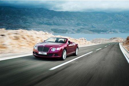 Новый Bentley Continental GT Speed