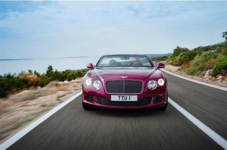 Вид спереди Bentley Continental GT Speed 2013