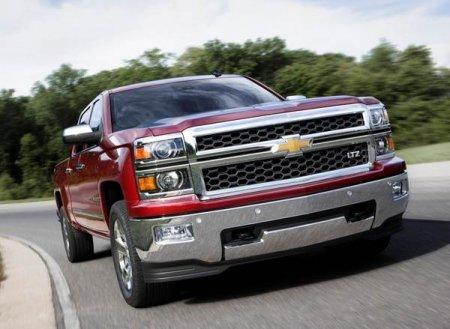 Chevrolet Silverado 2014 в Детройте