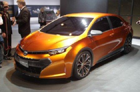 Концепт Toyota Corolla Furia