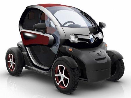 Популярные электромобили в Европе 2012 года
