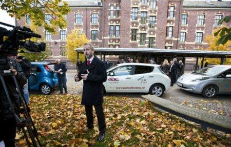 Nissan Leaf в Норвегии