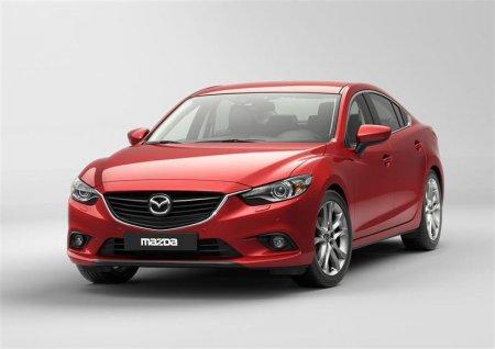 Седан Mazda 6 2013 года