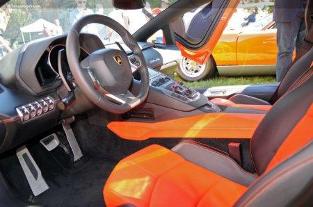 Салон Lamborghini Aventador LP 700-4 2012 года