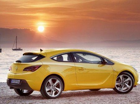 Opel Astra GTC с дизельным двигателем