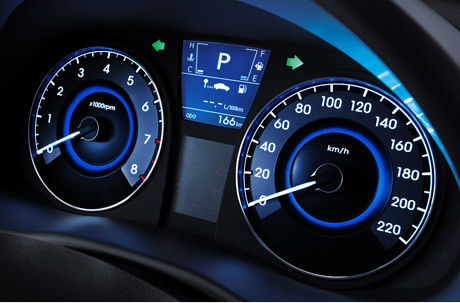 Спидометр Hyundai Accent 2013