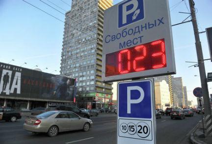План московских парковок