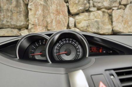 Панель спидометра в Toyota Verso 2013