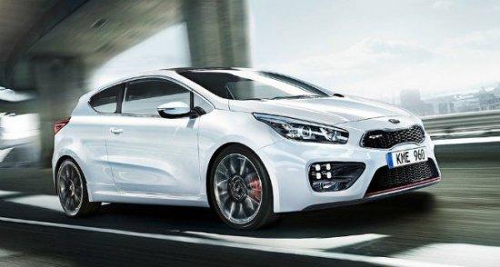 Цена на новый трехдверный Kia Pro Cee'd в Росии