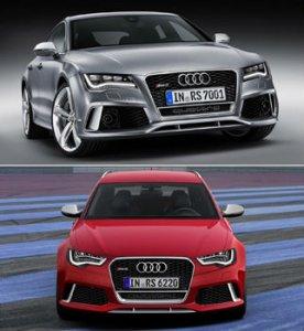 Audi RS6 Avant и RS7