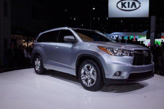 Toyota Highlander (Хайлендер) 2014 – цена, фото, технические характеристики, видео