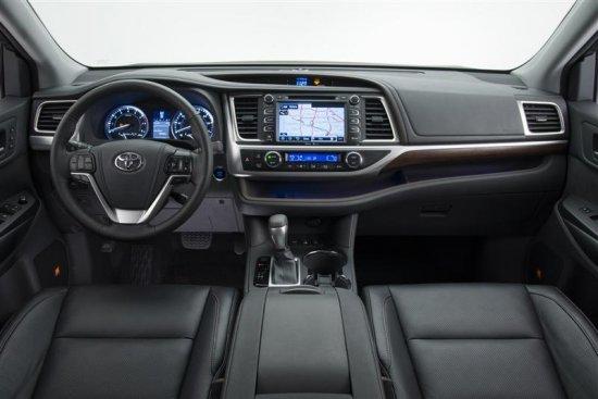 Центральная консоль Toyota Highlander 2014