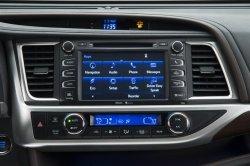 Приборная панель Toyota Highlander 2014